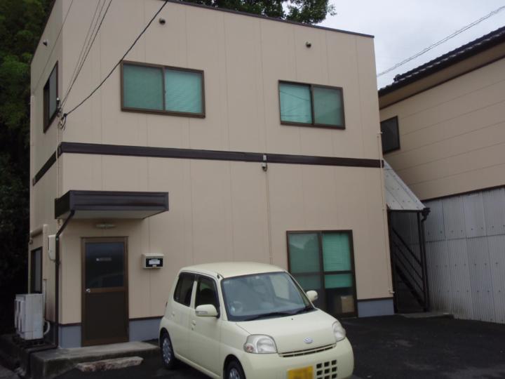 倉敷市 E様事務所 外壁・屋根塗装工事