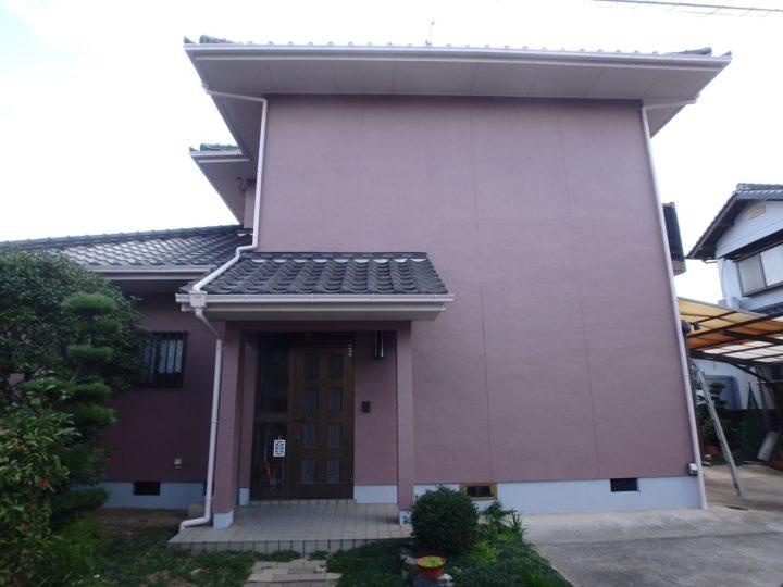 倉敷市 S様邸 外壁塗装工事