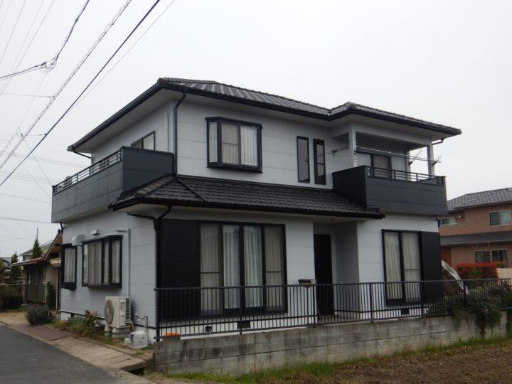 倉敷市 F様邸 外壁塗装工事・防水工事