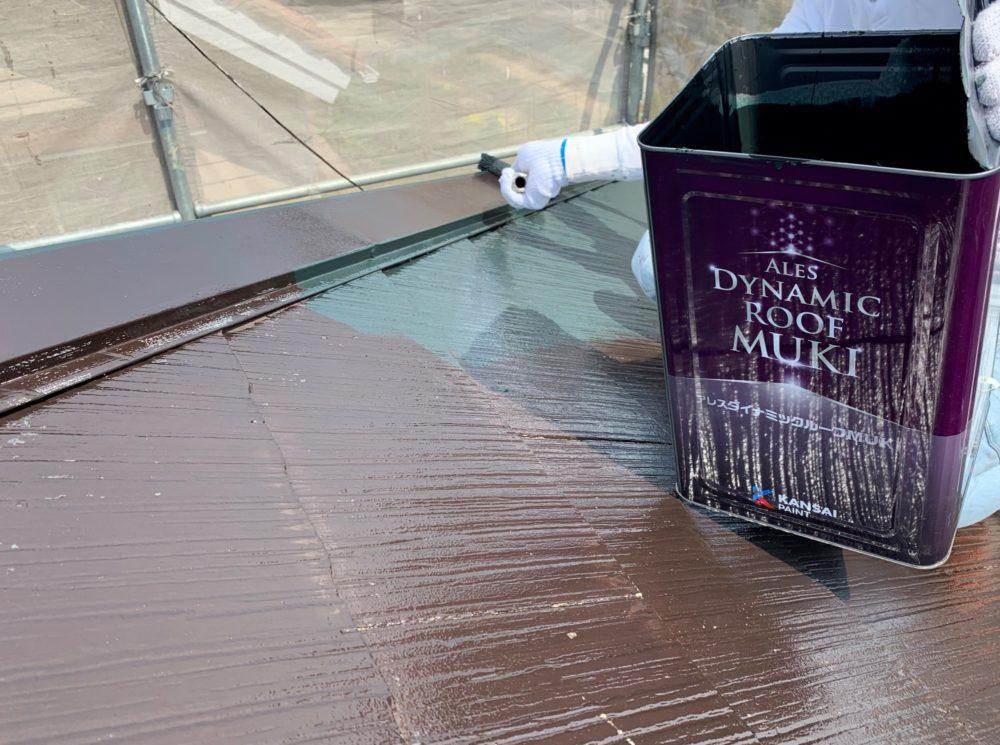 屋根 塗装 倉敷