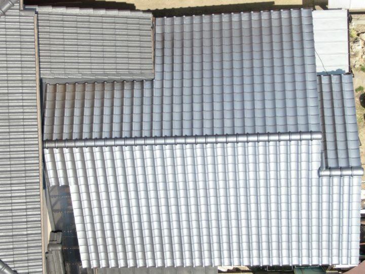 釉薬瓦施工