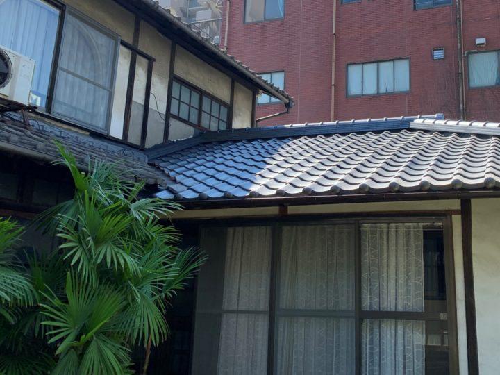 倉敷市 T様邸 屋根瓦葺き替え・外壁補修工事