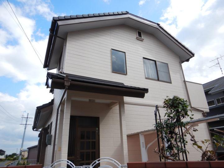倉敷市 T様邸 屋根瓦葺き替え・外壁塗装工事