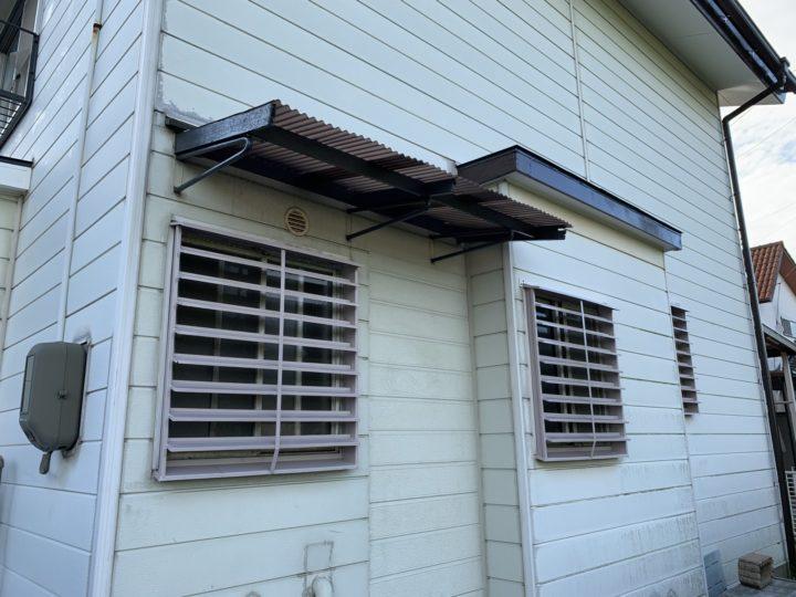 窓ルーバー塗装