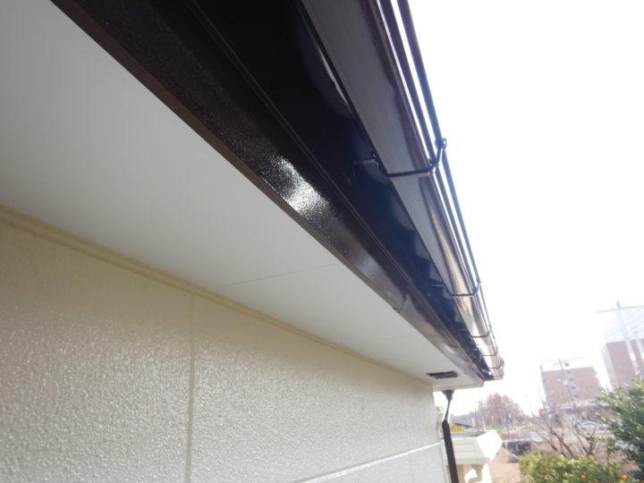 雨樋・破風板塗装