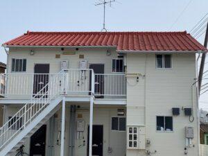 倉敷市 D様アパート 屋根塗装・外壁塗装