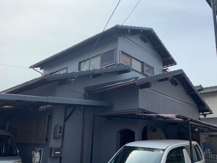 倉敷市 H様邸 屋根瓦葺き替え・外壁塗装