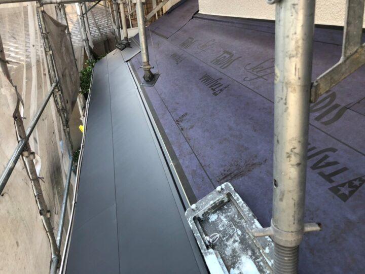ルーフィング、屋根本体施工